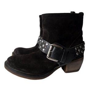 Josef Seibel Grey Suede Ankle Boots Eur 36 US 5.5